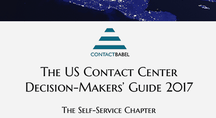 The 2017 us contact center decision makers guide genesys self service gold resource center en