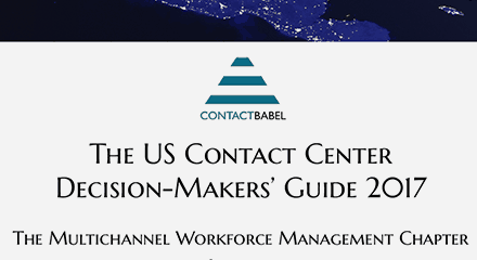 The 2017 us contact center decision makers guide genesys wfm gold resource center en