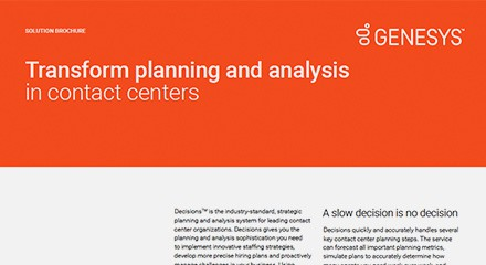 Transform planning analysis contact centers br resource center en