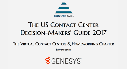 Us contact center decision makers guide 2017 resource center en