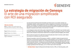 [genesys prescriptive migration] [ex] nurture offer {es]