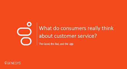 Genesys customer service survery results ppt resource center en