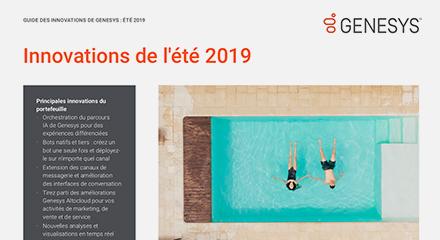 Genesys summer innovations purecloud flyer resource center fr