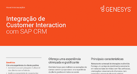 Edb98a4b customer interaction integration with sap crm br resource center pt