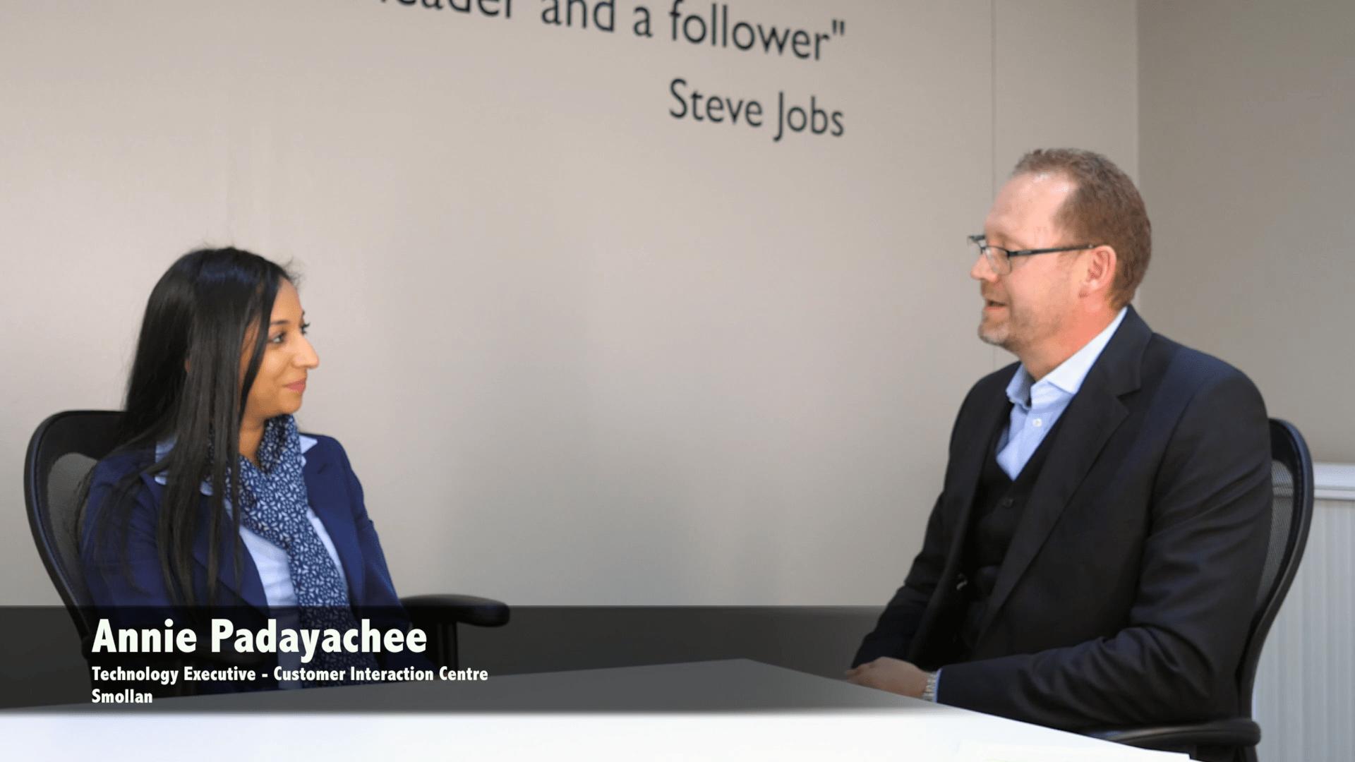 Smollan interview