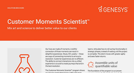 Customer moments scientist thumbnail